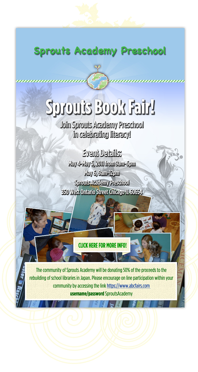 Sprouts Academy Bookfair!